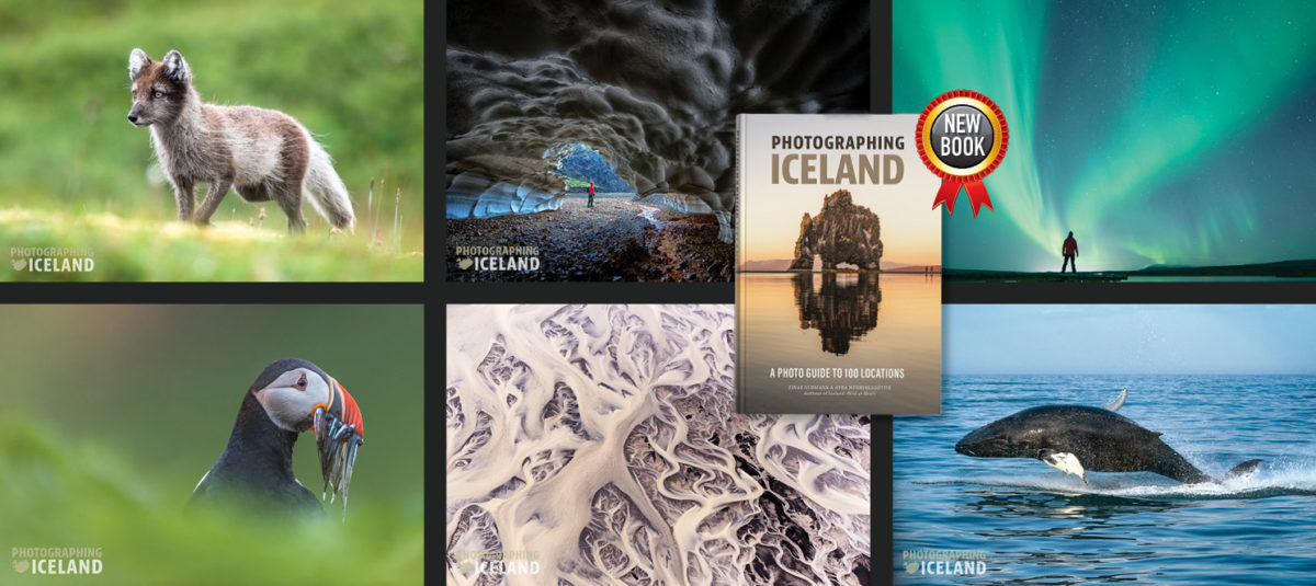 Photography methods in Iceland.