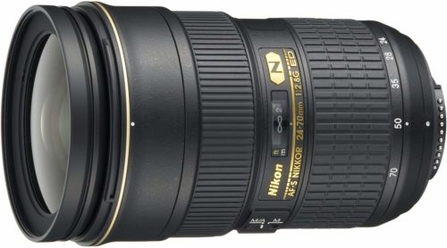 Nikon 24-70 f2.8 lens